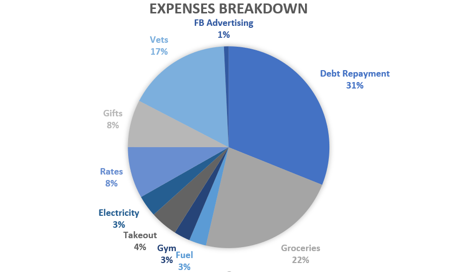 Tracking Weekly Spending